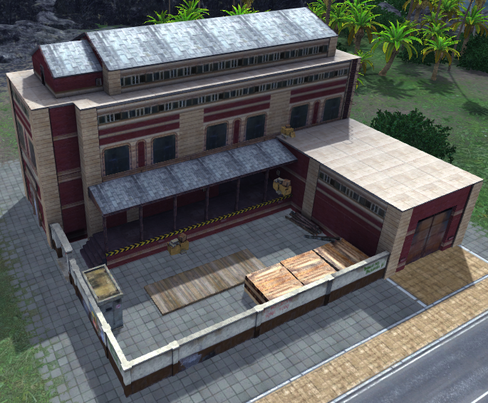 Furniture Factory (Tropico 4)