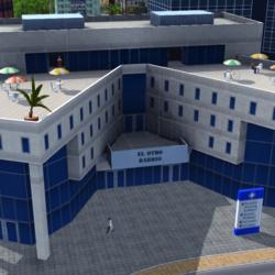 """""""Wirtschaft & Wohlstand""""-Gebäude aus Tropico 4"""