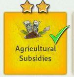 Edict Agricultural Subsidies