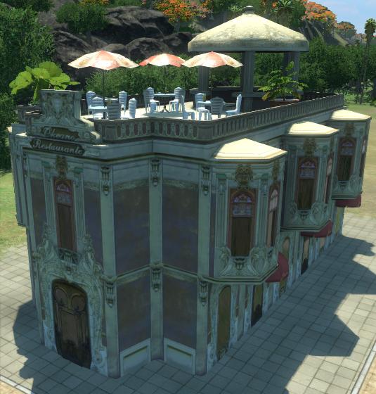 Gourmet Restaurant (Tropico 4)