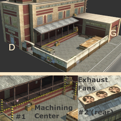 Furniture Factory (Tropico 3)