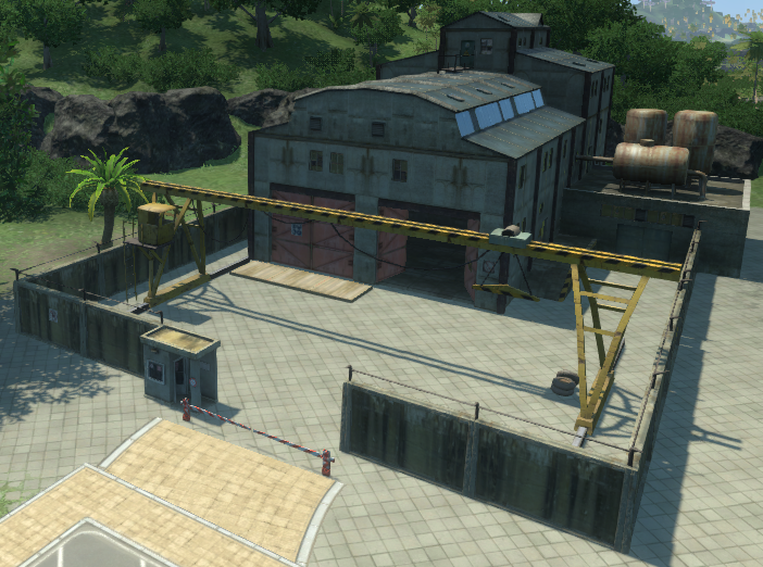 Weapons Factory (Tropico 4)
