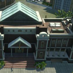 Regierungsgebäude in Tropico 4