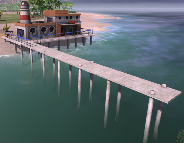 Tourist Dock (Tropico 4)