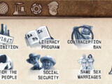 Edicts (Tropico 3)/Social