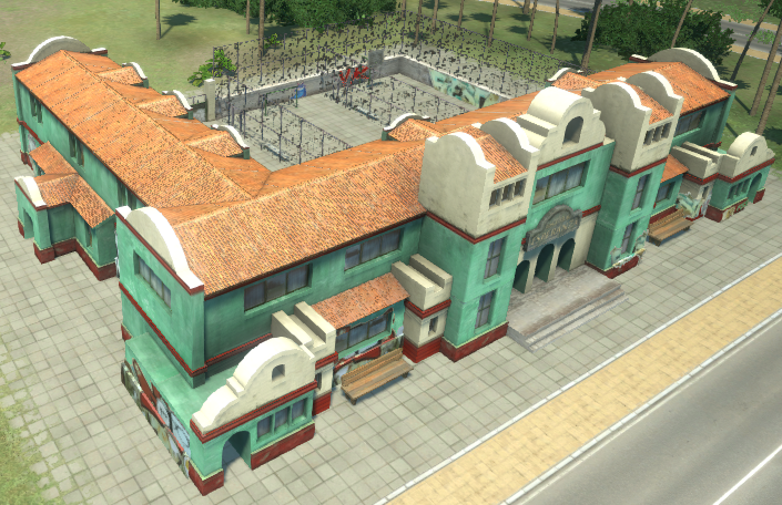 High School (Tropico 4)