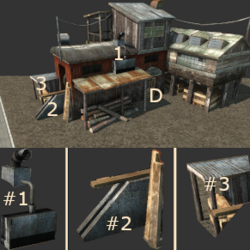 Lumber Mill (Tropico 3)