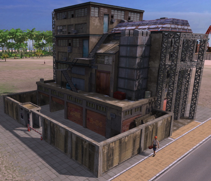 Construction Office (Tropico 4)