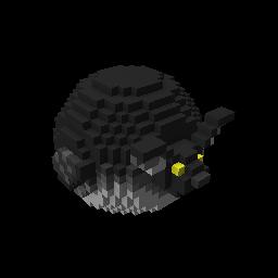 Bouncy Black Bat