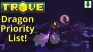 Dragon Priority Guide! The Best Dragons in Trove!