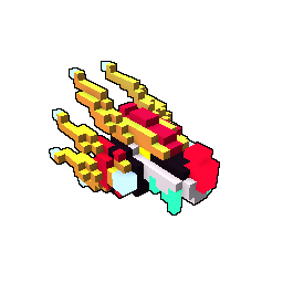 Blocktron, the Guardian Beyond the Sky