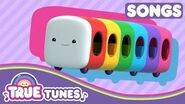Wheels on Rainbow Bus True Tunes Wheels on the Bus Songs for Kids