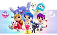 True and the Rainbow Kingdom characters 2