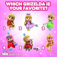 Which Grizelda is your Favourite