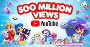 500 Million Views on YouTube