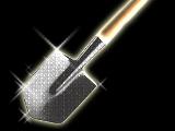 Diamond-Encrusted Shovel