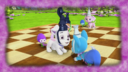 Dogs as chess pawns
