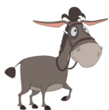 Моисей-ездовой ослик Алёши