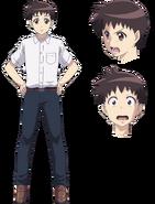S2 characterArt Kazuya
