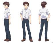 Kazuya Anime Key Art Angles