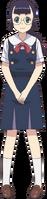 Chisato-main Anime Design