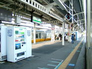 Tsuchiura station platform-2063