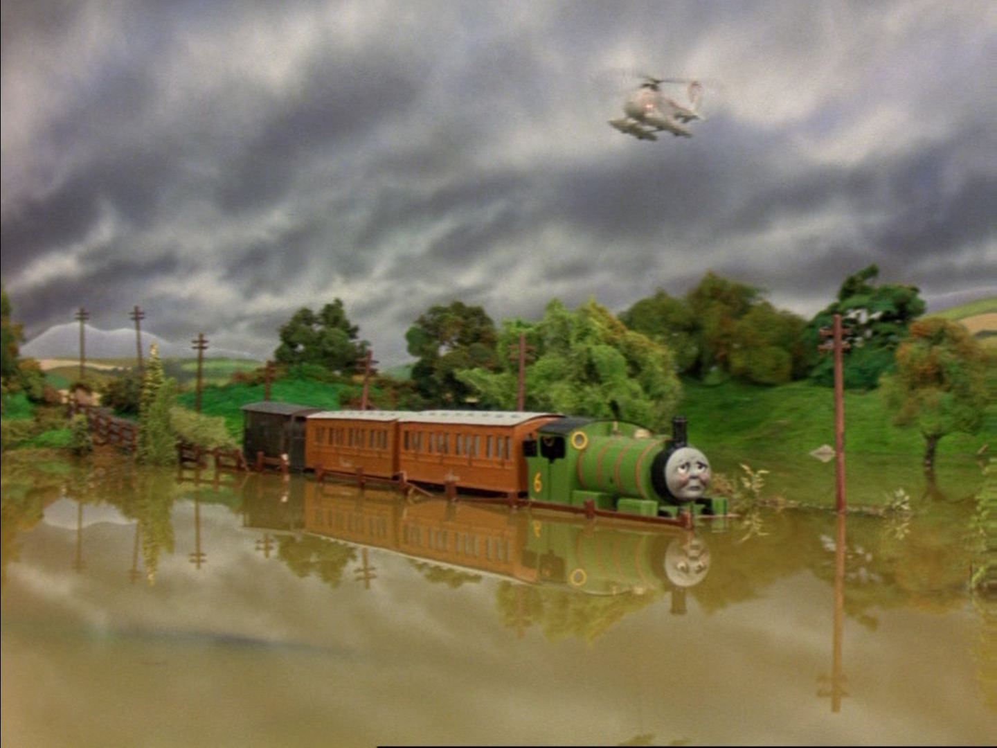 The Flooded Track