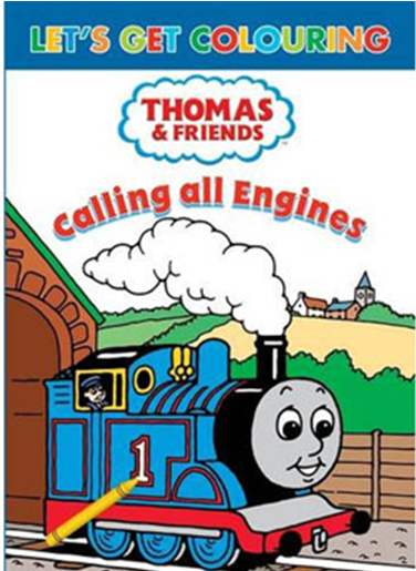 Calling all Engines (colouring book)