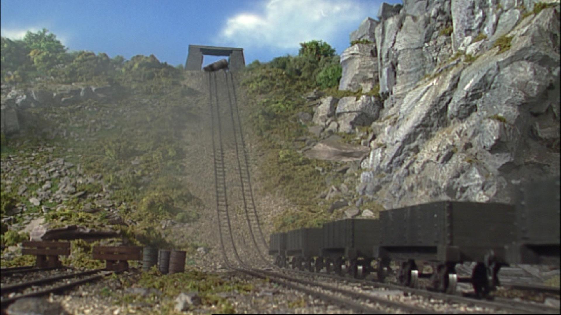 Skarloey Coal Yard
