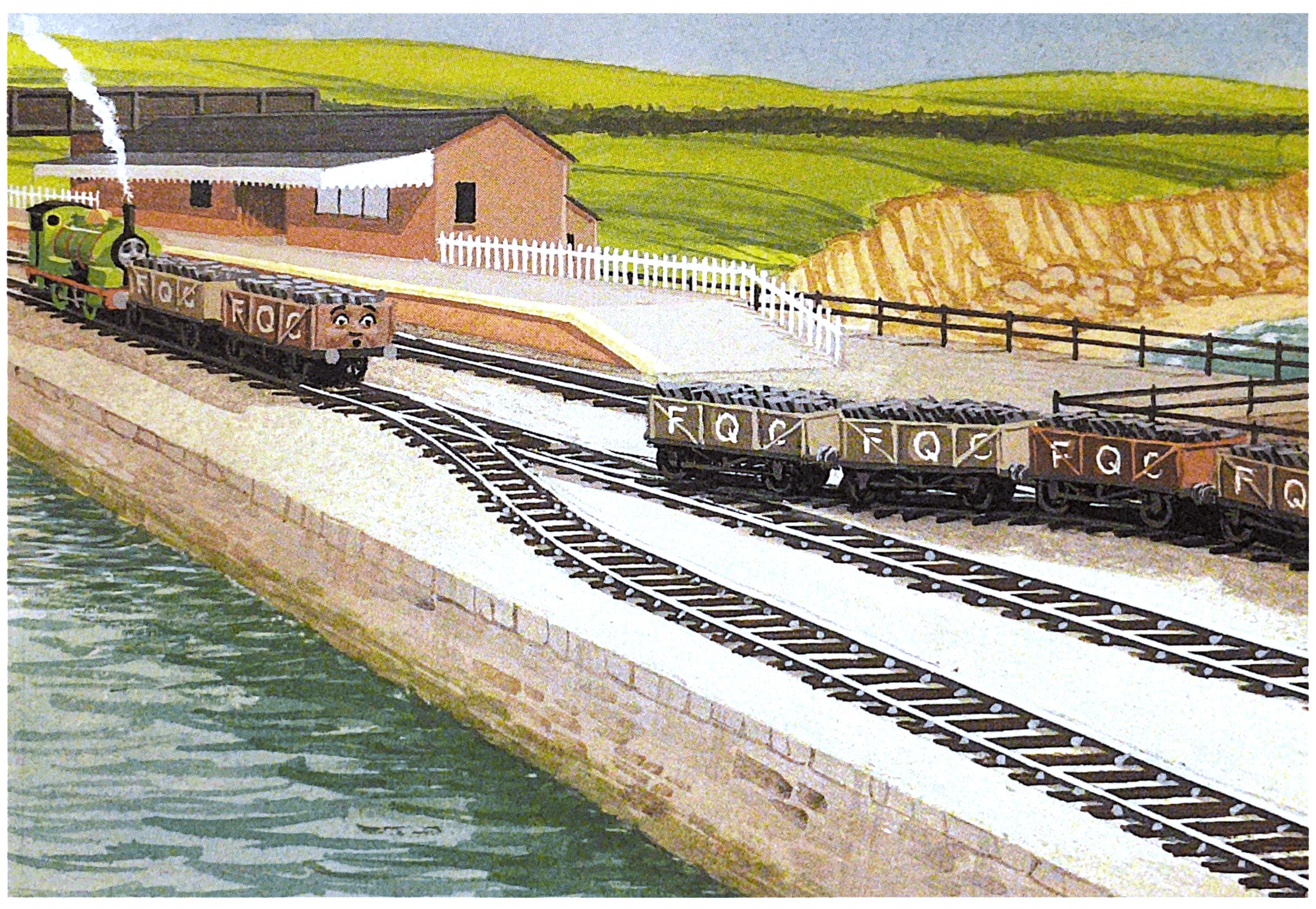 Knapford Harbour