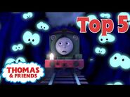 Thomas & Friends™ - Scariest Moments! - Thomas Top 5 - Best of Thomas Highlights - Kids Cartoon