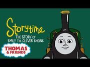 Thomas & Friends™ - The Story of Emily the Clever Engine - NEW - Story Time - Podcast for Kids