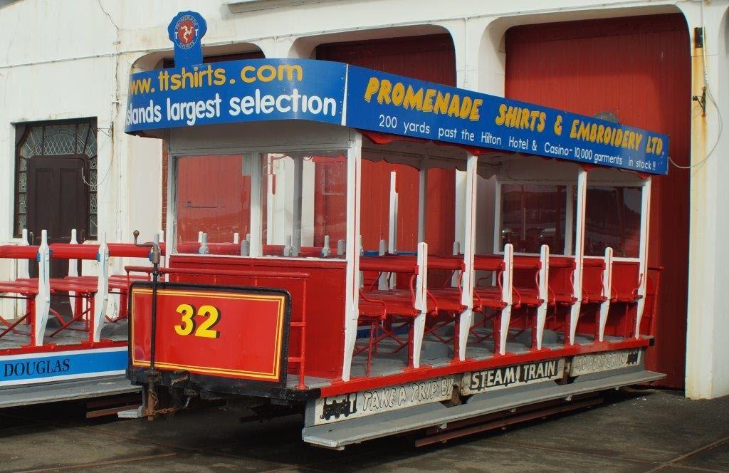 Douglas Bay Horse Tramway No.32