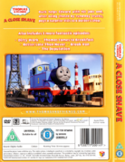 ACloseShave(DVD)backcoverandspine