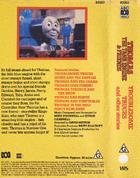 TroublesomeTrucksandotherstories1984AUSbackcover numberless