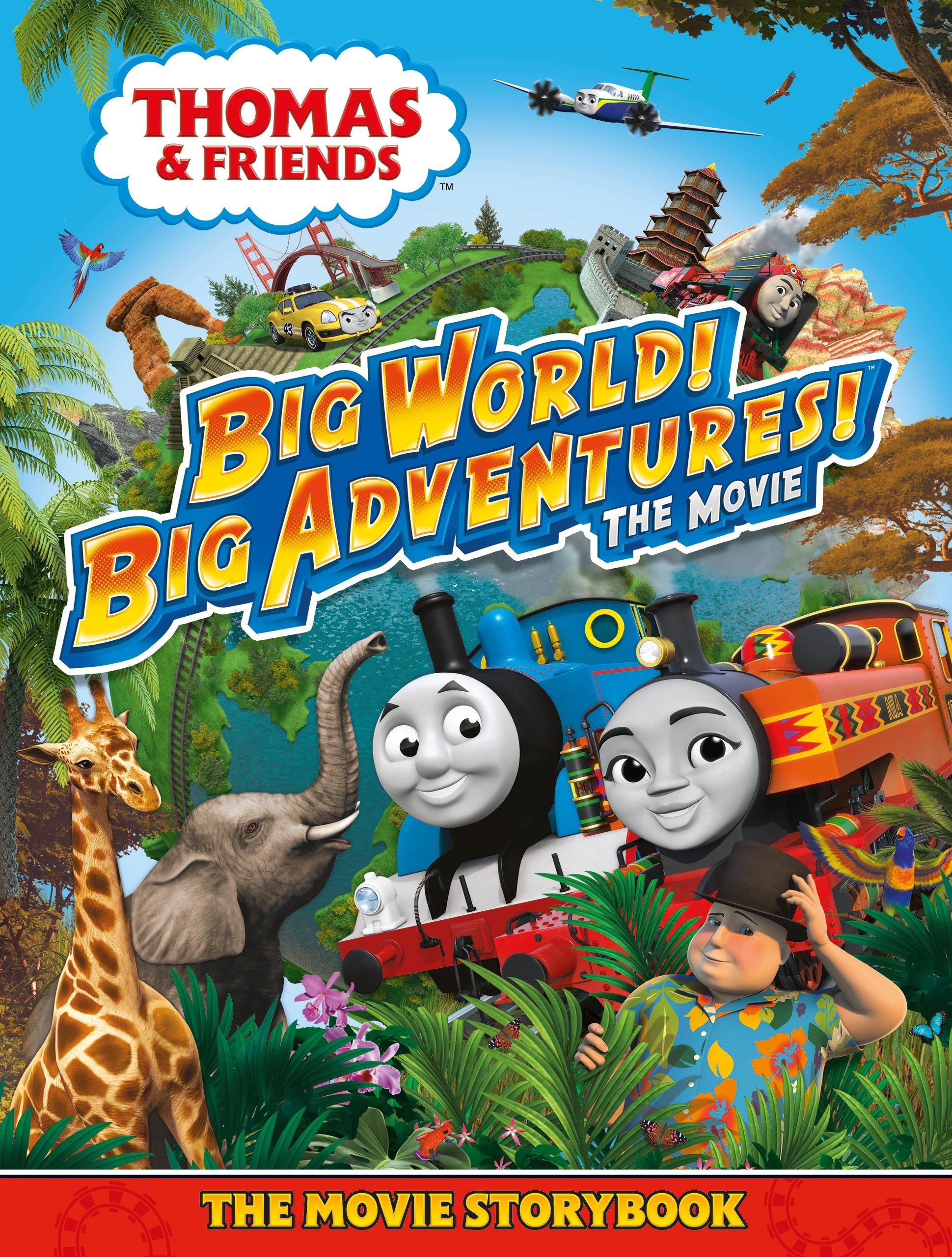 Big World! Big Adventures! The Movie Storybook