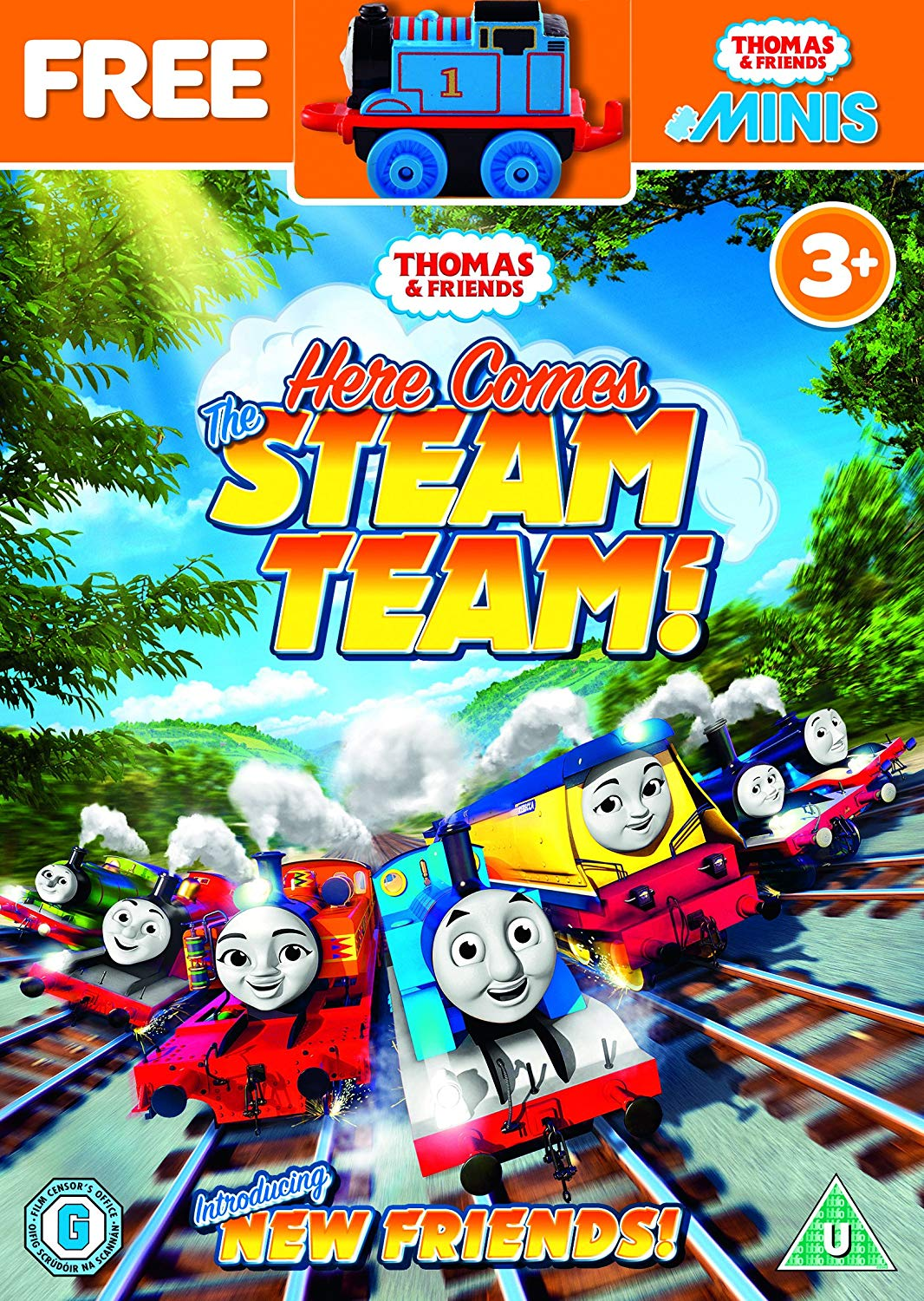 Here Comes the Steam Team!