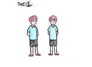 Kids 02 CGI Sketch Design