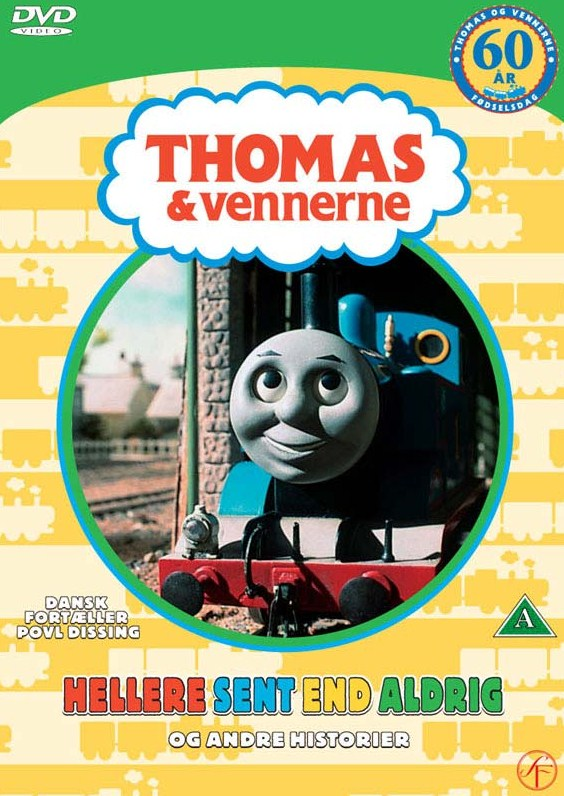 Better Late Than Never and Other Stories (Danish DVD)