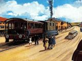 הרכבת הקלה הישנה של טובי