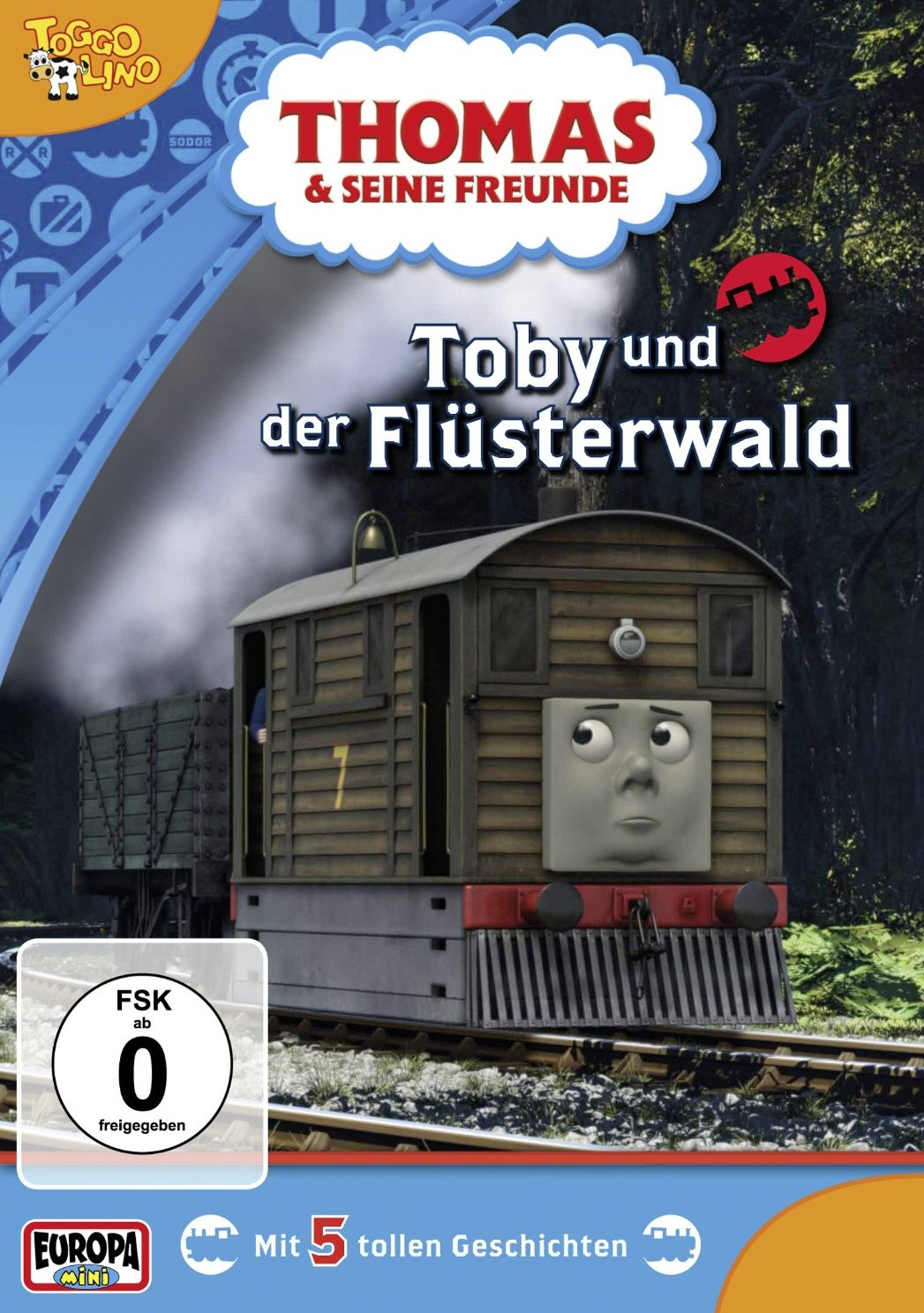 Toby and the Whispering Forest (German DVD)