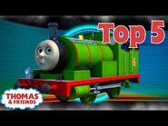 Thomas & Friends UK - Top 5 Little Engines! - Best of Thomas Highlights - Kids Cartoon