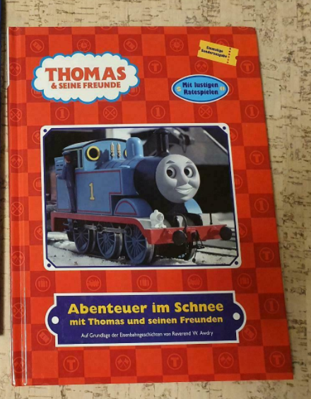 Adventures in the Snow with Thomas and his Friends