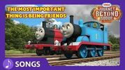 The Most Important Thing Is Being Friends Journey Beyond Sodor Thomas & Friends