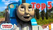 Thomas & Friends UK™ Top 5 Cheeky Thomas Moments! Best of Thomas Highlights Kids Cartoon
