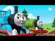 Thomas & Percy Learn About Mixing Colours Korean (Learn with Thomas)
