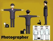 Photographer CGI Colour Model