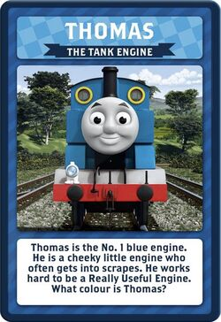 Thomas and Friends Top Trumps Activity Tin Game