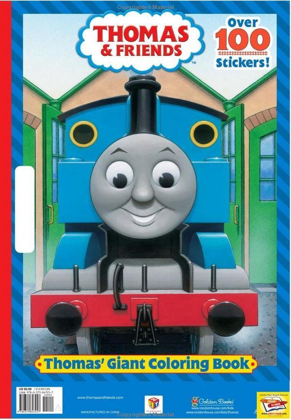 Thomas' Giant Coloring Book Thomas The Tank Engine Wikia Fandom