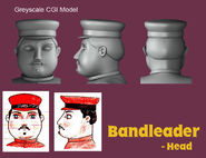 Band Leader Greyscale CGI Model